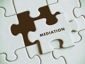 image of unfinished puzzle - mediation is the last puzzle piece